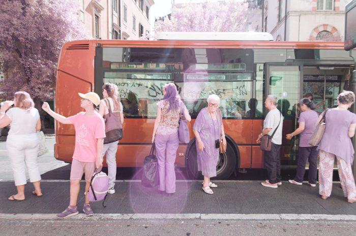 Группа туристов. Автор: Milan Racmolnar.