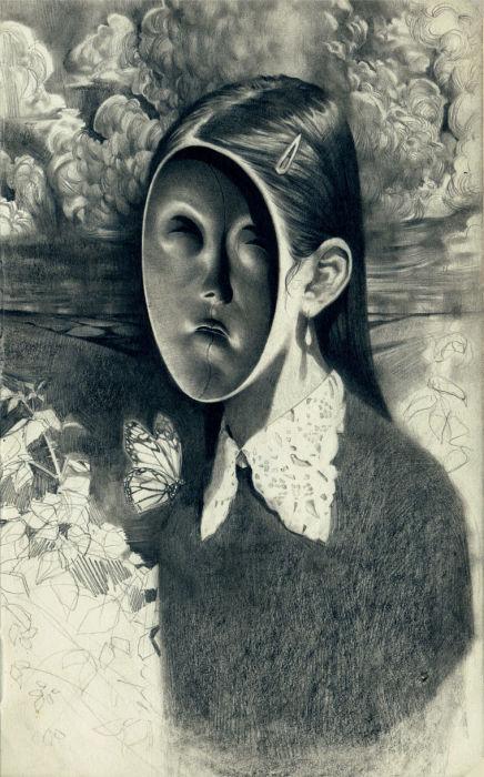 Истинное лицо. Автор: Miles Johnston.