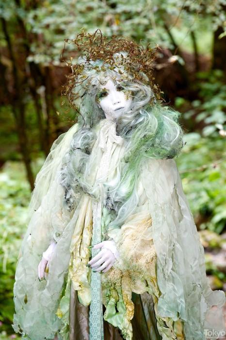 Таинственный лес. Минори (Minori-ShiroNuri).
