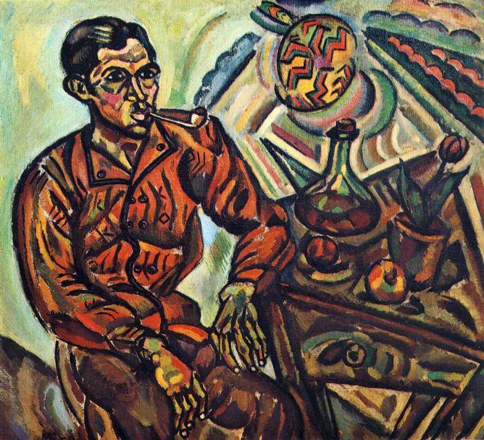 Портрет Винсента Нубиолы.