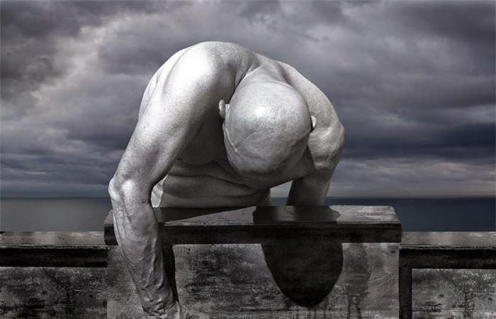 Отчаяние.  Фотохудожник Миша Гордин (Misha Gordin).