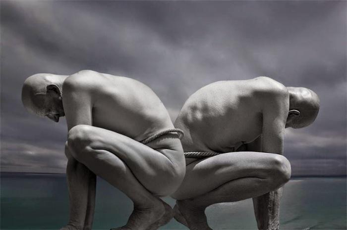 Двойственность.  Фотохудожник Миша Гордин (Misha Gordin).