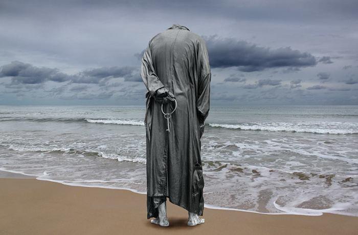 Одиночество.  Фотохудожник Миша Гордин (Misha Gordin).
