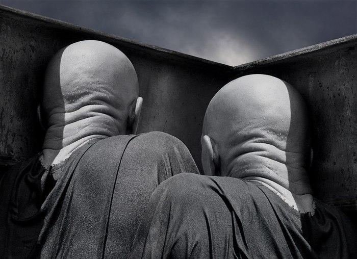 Сомнения.  Фотохудожник Миша Гордин (Misha Gordin).
