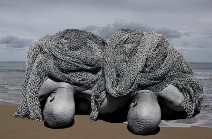 Тяжесть. Фотохудожник Миша Гордин (Misha Gordin).
