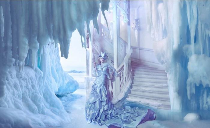 Ледяная крепость. Автор: Miss Aniela.