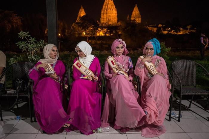 Конкурс красоты по-мусульмански. Miss World Muslimah. Автор фото: Monique Jaques.