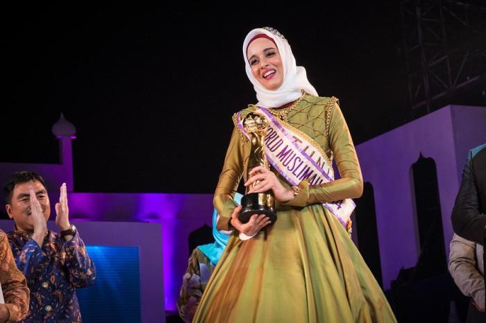 Фатма Бен Гуэфраке из Туниса получила титул «Мисс мусульманка — 2014». Автор фото: Monique Jaques.