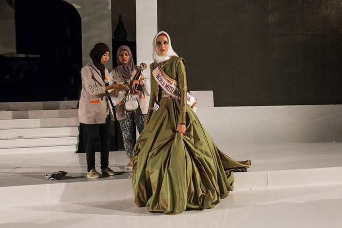 Конкурс закончен. Победила «Мисс Тунис» Фатма Бен Гуэфраке. Автор фото: Monique Jaques.