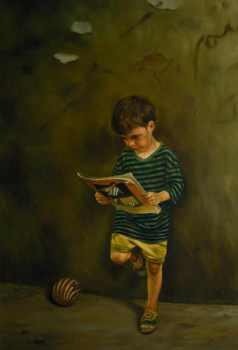 Детство. Автор: Mitra Shadfar.