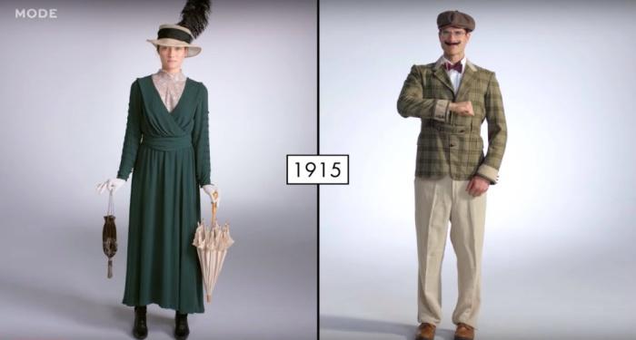 Модные девушки и парни 1910-х. Канал Mode.