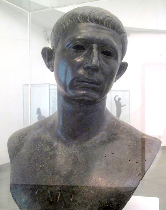 Катон Младший. \ Фото: en.wikipedia.org.
