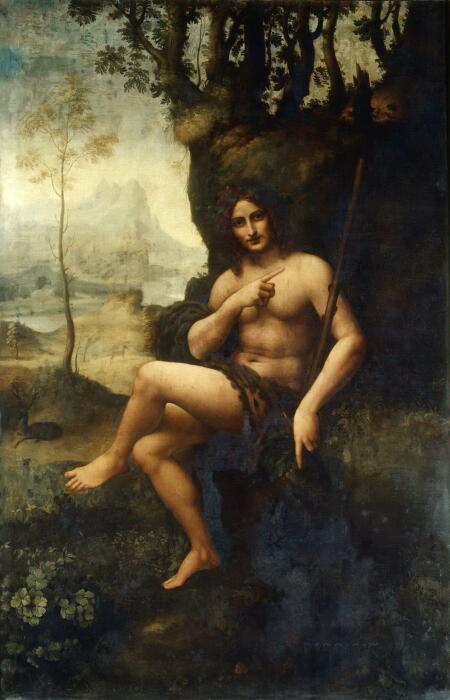 Вакх, Леонардо да Винчи. \ Фото: smallbay.ru.