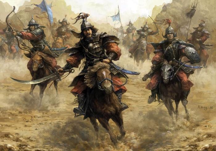 Могучая монгольская армия. \ Фото: qph.fs.quoracdn.net.