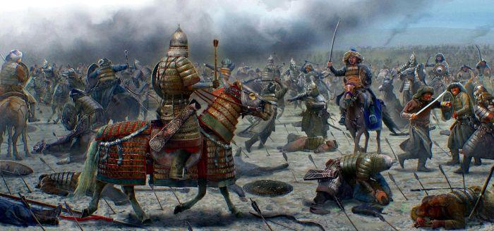 Войско хана Угэдэя, сына Чингисхана. \ Фото: imgur.com.