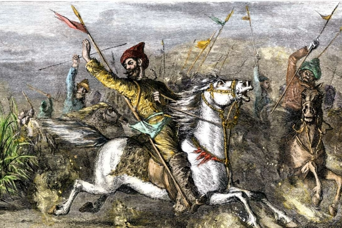 Распри между племенами монголов, которым положил конец Чингиз. \ Фото: faaqidaad.com.