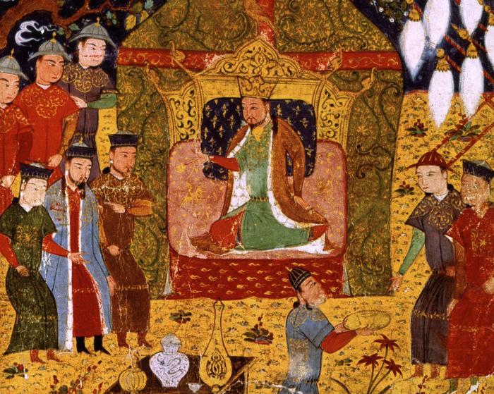 Великий хан и его приспешники. \ Фото: factinate.com.