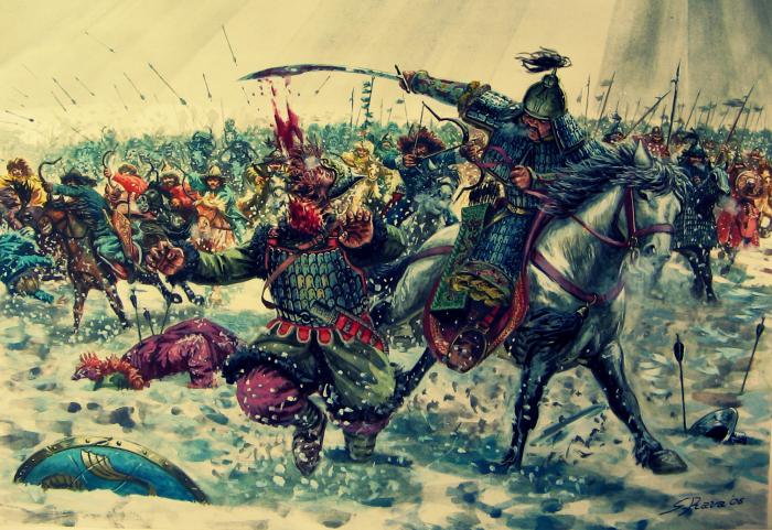 Монгольское нашествие на Запад. \ Фото: centr-intellect.ru.