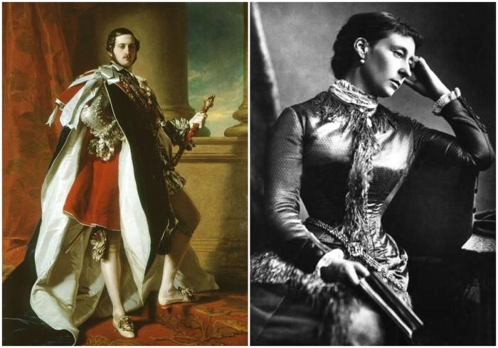 Принц Альберт и Принцесса Алиса. \ Фото: pinterest.es.