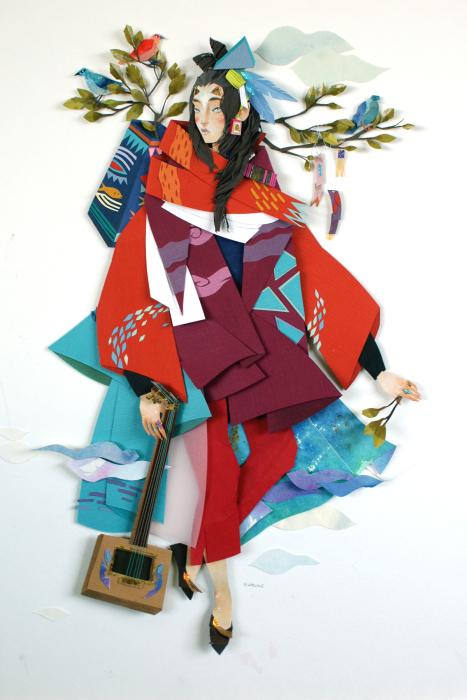 Таинственные иллюстрации Морганы Уоллес (Morgana Wallace).