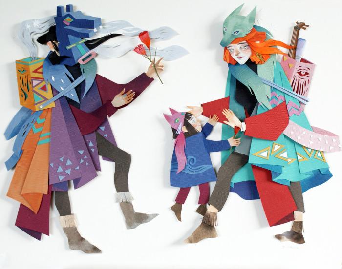 Волшебные иллюстрации Морганы Уоллес (Morgana Wallace).
