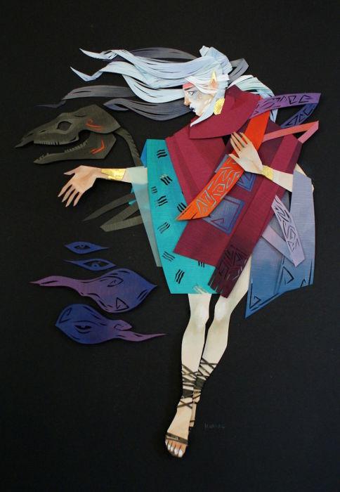 Волшебство в иллюстрациях Морганы Уоллес (Morgana Wallace).