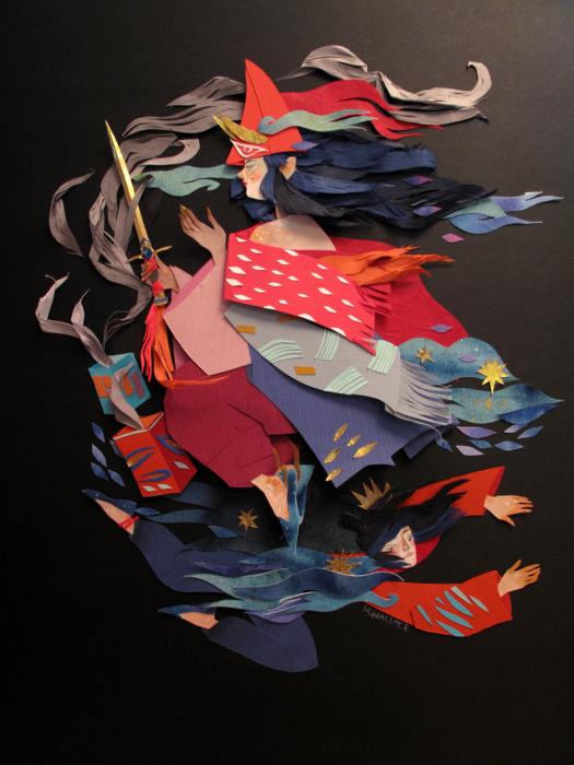 Своеобразные иллюстрации Морганы Уоллес (Morgana Wallace).