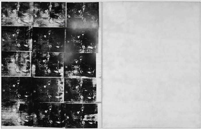 Серебряная автокатастрофа, Энди Уорхол. \ Фото: google.com.