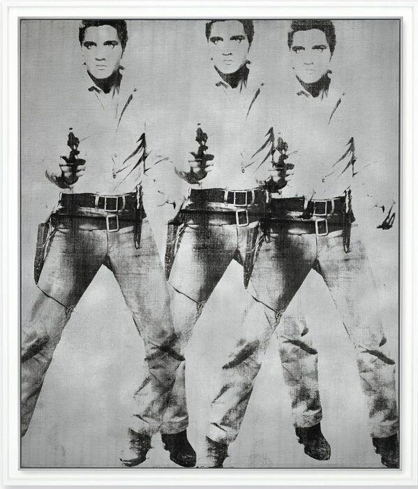 Тройной Элвис, Энди Уорхол. \ Фото: elimparcial.es.