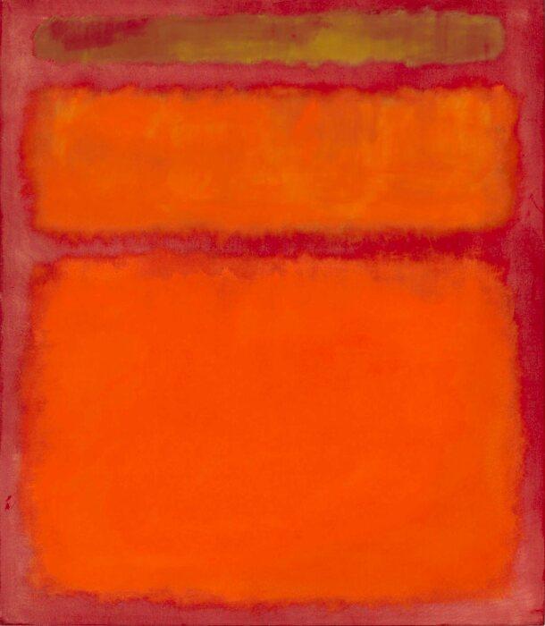 Оранжевый, красный, жёлтый, Марк Ротко, 1961 год. \ Фото: ru.wikipedia.org.