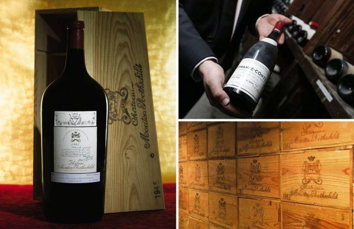 Вино и винные коллекции. | Фото: townandcountrymag.com.
