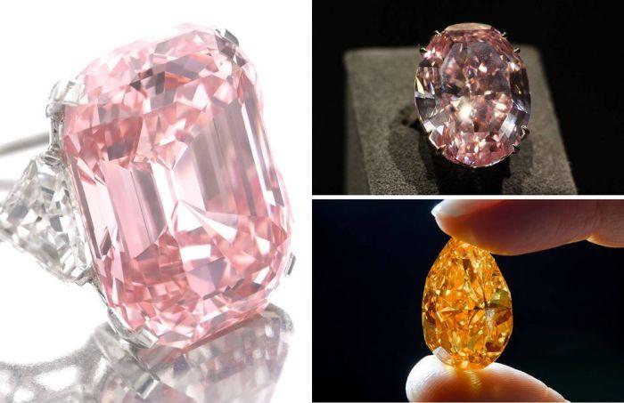 «Розовый граф». | «Розовая звезда». | «Апельсин». | Фото: townandcountrymag.com.