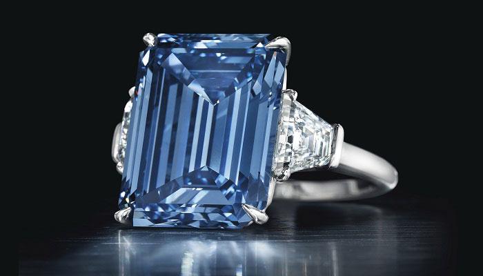 Бриллиант Oppenheimer Blue.