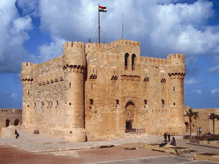 Крепость Кайт-Бей - фортификационное сооружение в Александрии, Египет.