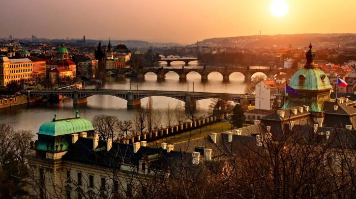 Пражский Град  - замок в Праге, Чехия.