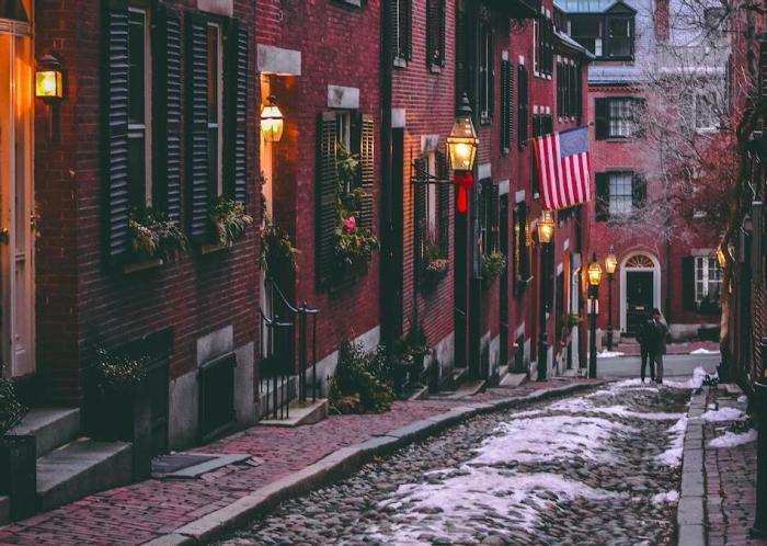 Старые кварталы Бостона.