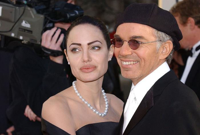 Анджелина Джоли и Билли Боб Торнтон. \ Фото: cheatsheet.com.