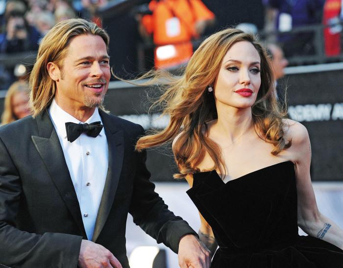 Анджелина Джоли и Брэд Питт. \ Фото: instyle.ru.