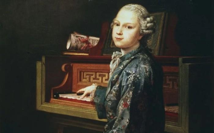 Ранее неизвестный портрет Моцарта. \ Фото: google.com.ua.