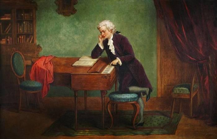 Моцарт - Маленькая ночная серенада. \ Фото: pinterest.com.