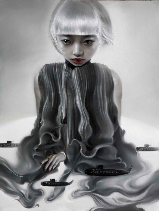 Осьминог. Автор: Mu Lei.