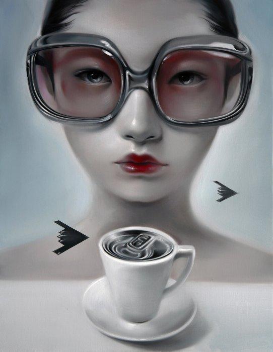 Чай после полудня. Автор: Mu Lei.