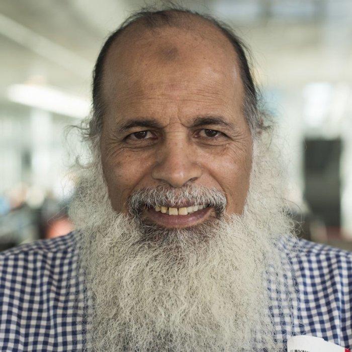Профессор Аль-Ахмад из Сирии в настоящее время преподаёт физику в Гетеборге. Автор: Mustafa Cankaya.