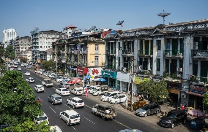 Транспорт Мьянмы. ¦ Фото: yandex.uz.
