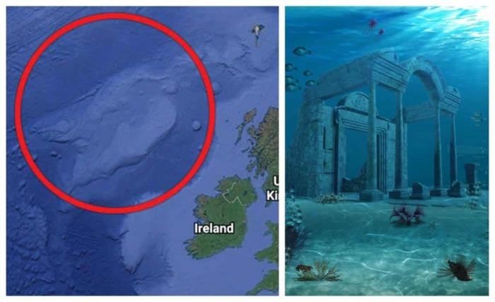 Затерянная Атлантида. \ Фото: irelandbeforeyoudie.com.