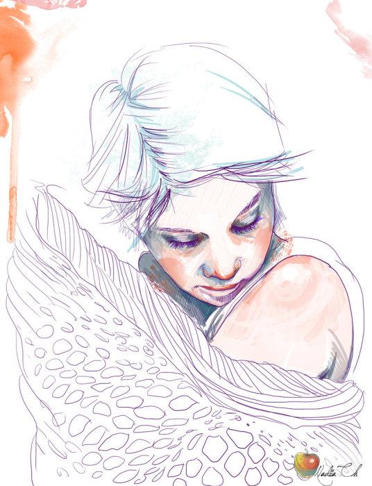 Прикосновения ангела. Автор: Надежда Черкасова.