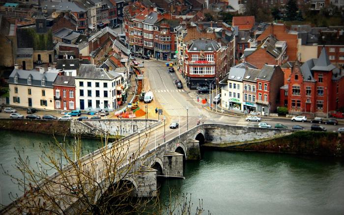 Невероятный город Намюр. Бельгия.
