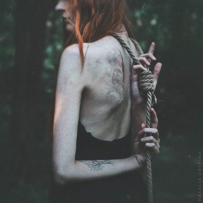 Эстетика красоты и боли в работах Натальи Дрепиной (Natalia Drepina).