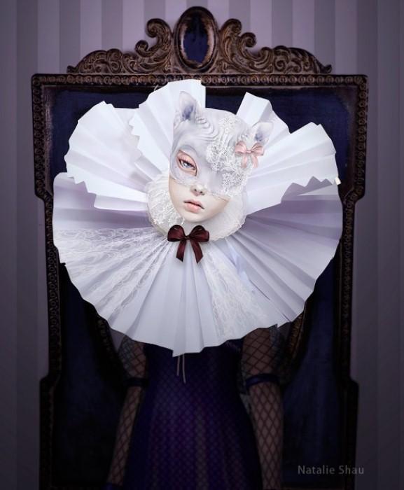 Леди Виолетт. Автор работ Натали Шау (Natalie Shau).