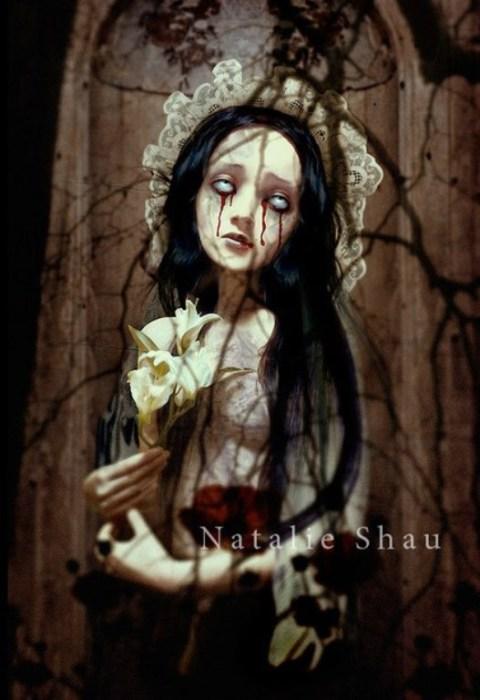 Сгнившая невинность. Автор работ Натали Шау (Natalie Shau).